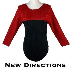 New Directions Long Sleeve Sweater NWT Size PM